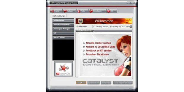 ATI Catalyst Control Center - PC-WELT