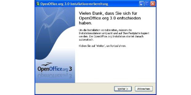OpenOffice 3 Installation