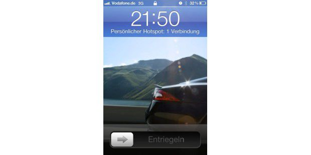 Apple iPhone 4 mit iOS 4.3 Beta