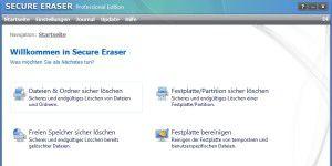 Lösch-Tool: Secure Eraser