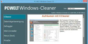 Exklusives Tool: PC-WELT Windows-Cleaner
