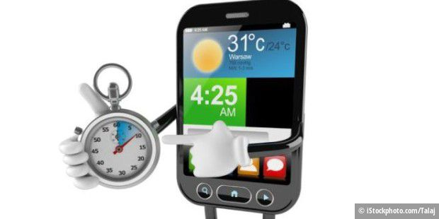 Anhaken Sie Android-Telefon an Auto