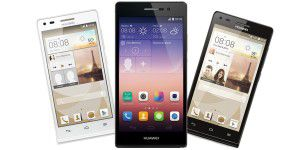 Video: Huawei Ascend P7 Mini vs. P7 vs. G6