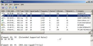 WLAN-Analyse: WifiInfo View