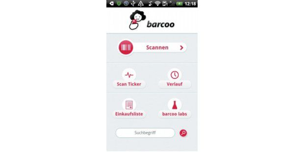 Barcode-Scanner Barcoo