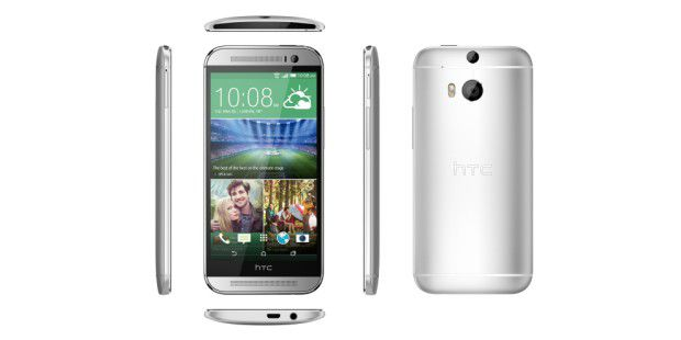 HTC One M8: Optimale Form