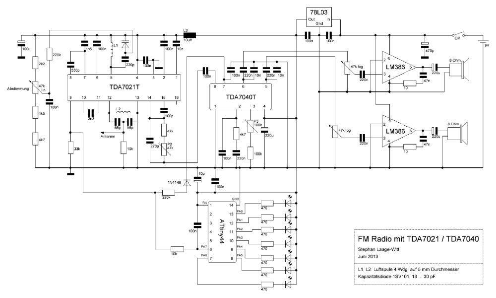 Nostalgisches FM-Stereo-Radio bauen - PC-WELT