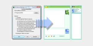 ICQ 8.0 Banner-Remover