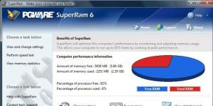 Systemoptimierungs-Tool: SuperRam