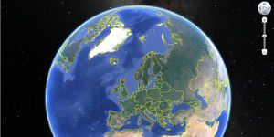 Kartografietool: Google Earth