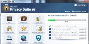 Sicherheit: Steganos Privacy Suite