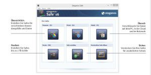 Datensicherheit: Steganos Safe