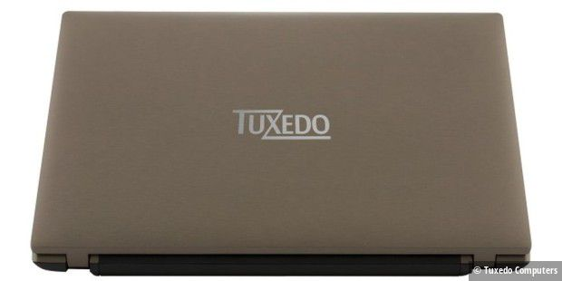 Im Tuxedo-Notebook steckt ein entspiegeltes Full-HD-Display
