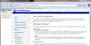 Web-Softwarepaket: Seamonkey