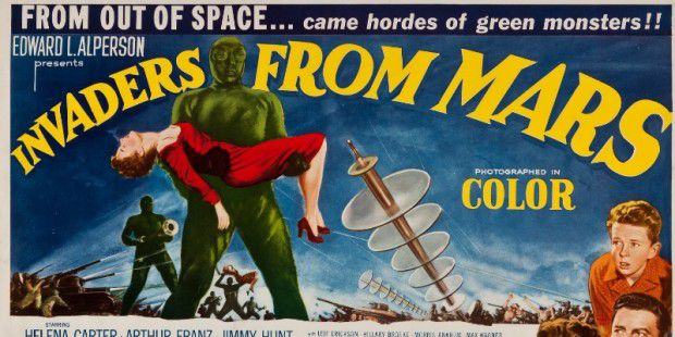 Invaders from Mars - Filmplakat
