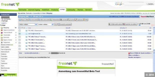 Freenet Spam