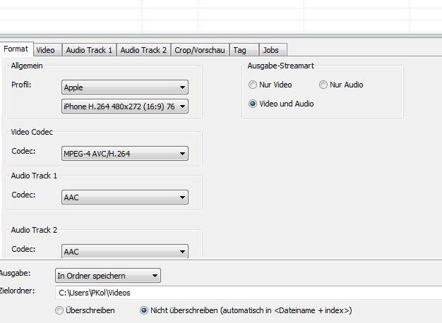 Xmedia Recode: Das richtige Profil auswählen - PC-WELT