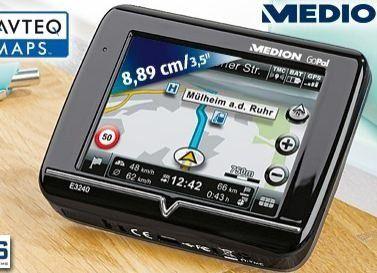 aldi s d medion gopal e3240 g nstiges navigationsger t mit tmc pc welt. Black Bedroom Furniture Sets. Home Design Ideas