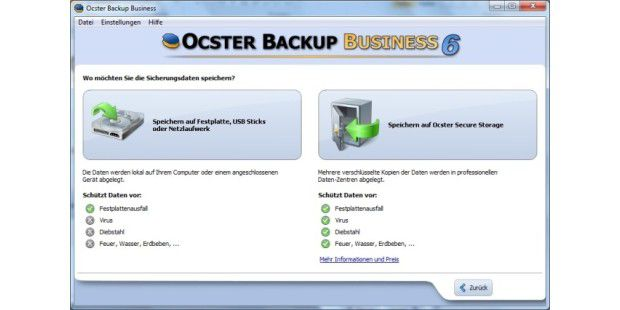 Ocster Backup Business 6