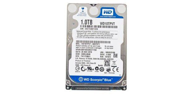 Western Digital Scorpio Blue 1TB WD10TPVT