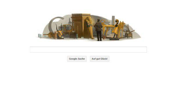 Google Doodle am 9.5.2012