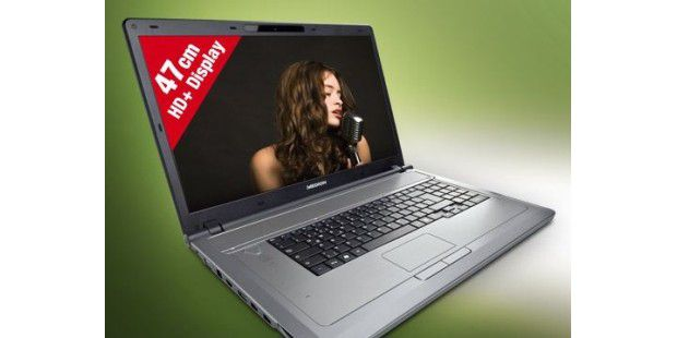 Neues Aldi-Notebook Medion Akoya P8612