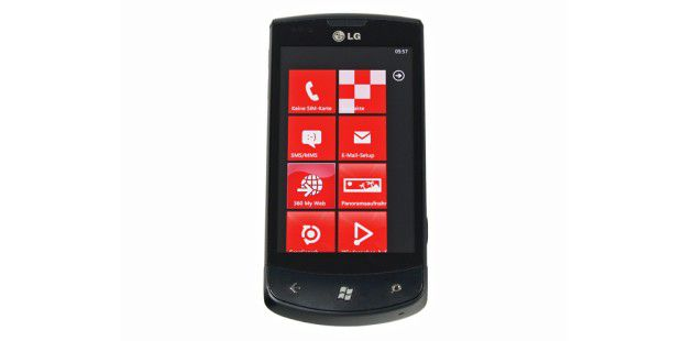 LG Optimus 7: erstes Smartphone mit Windows Phone 7