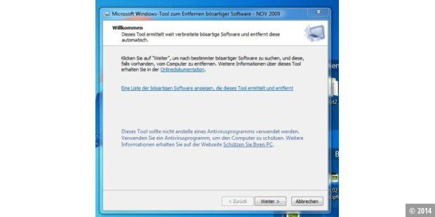 Download des Tages: Malicious Software Removal Tool