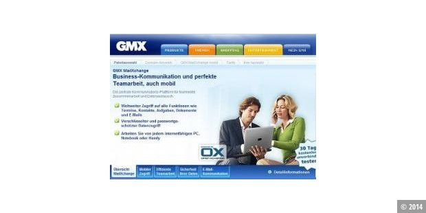 MailXchange: GMX bietet Push-Mail-Alternative zu Microsoft Exchange an