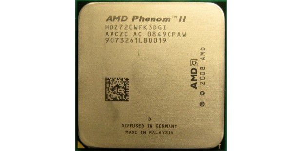 AMD Phenom II X3 720 Black Edition im CPU-Test