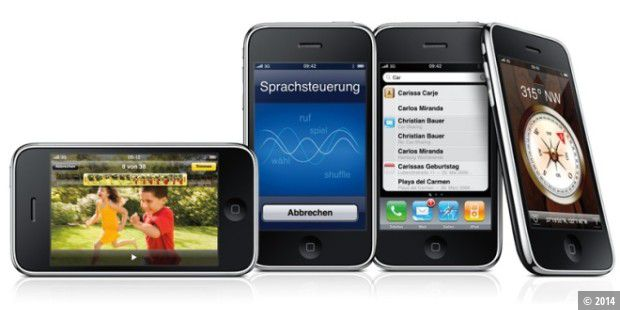 digitaler Kompass für das iPhone