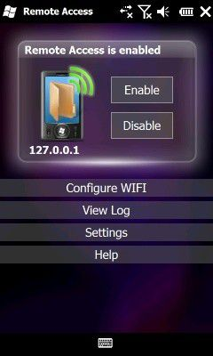 WiFi Remote Access