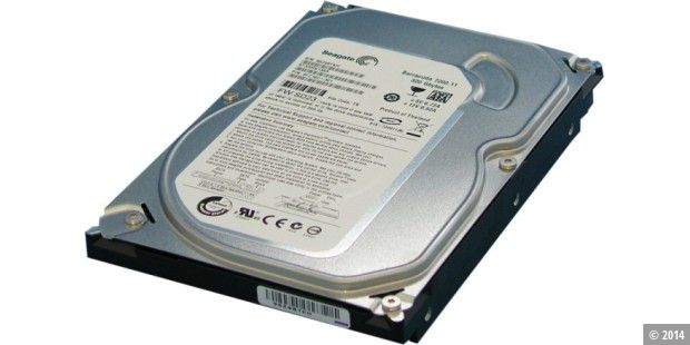 Flache Flunder im 3,5-Zoll-Format: Seagate Barracuda 7200.11 ST3320613AS
