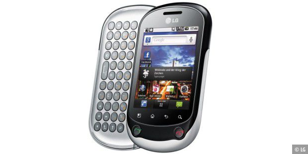LG Electronics Optimus Chat C550