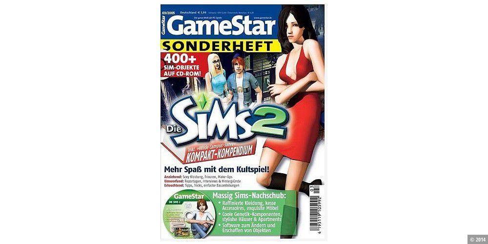 Die sims 2 gamestar sonderheft haustiere mit cd viele objekte über.