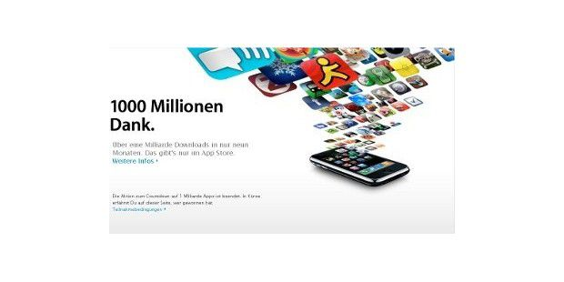 1.000.000.000 Downloads im App Store