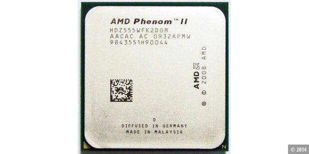 AMD Phenom II X2 555 Black Edition im CPU-Test