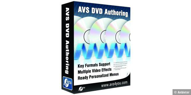 AVS DVD Authoring 1.3