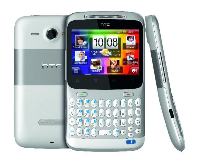 HTC bringt HTC Salsa & HTC ChaCha mit Facebook-Taste