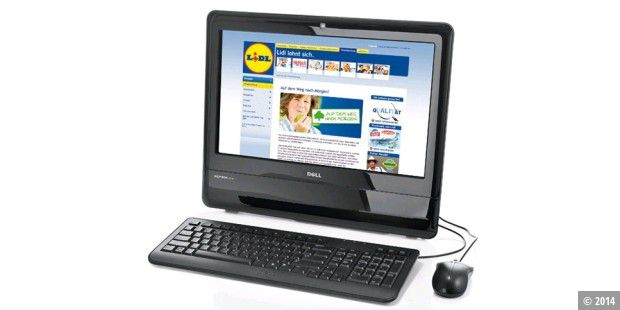 Lidl verkauft All-in-One-PC Inspiron One 19 von Dell