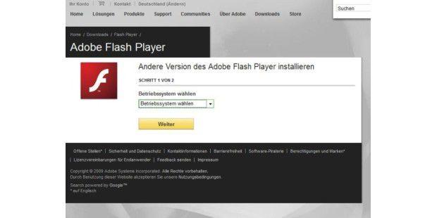Neueste Version Adobe Flash Player : flash player unter windows 7 rc 64 bit installieren pc welt ~ A.2002-acura-tl-radio.info Haus und Dekorationen