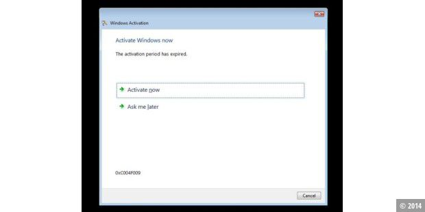 Windows 7 Beta lieber legal aktivieren