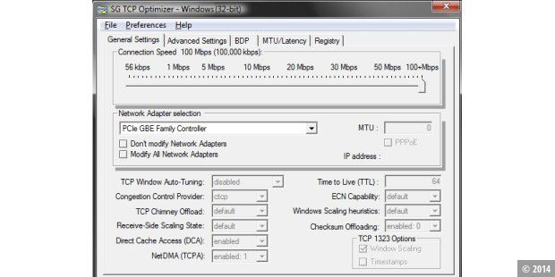 Download-Tipp: TCP Optimizer