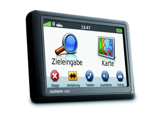 das navi garmin n vi 1490tpro im test pc welt. Black Bedroom Furniture Sets. Home Design Ideas