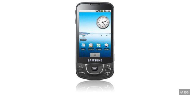 Android-Handy im Test: Samsung Galaxy I7500