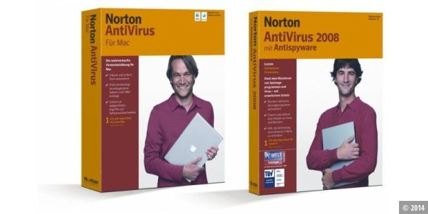 Norton Antivirus für Mac und Windows