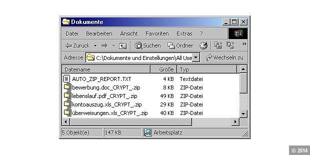 Erpressung Mit Verschlüsselten Dateien Pc Welt
