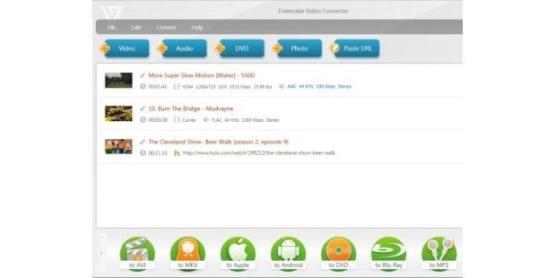Download-Tipp: Freemake Video Converter