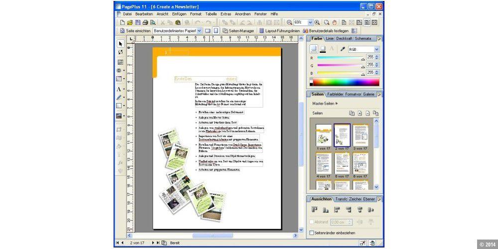 Serif Pageplus 11 - PC-WELT