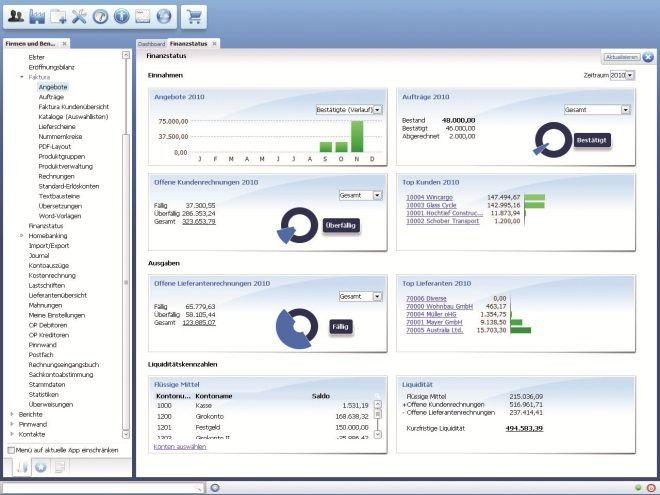 Online Buchhaltung Um Rechnungsprogramm Faktura Erweitert Pc Welt